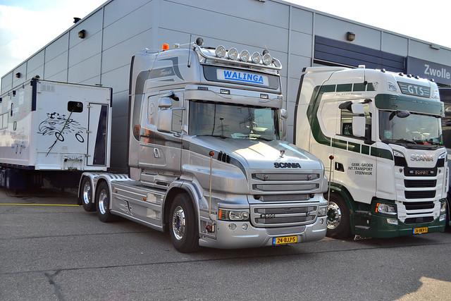 Scania T500V8 Walinga Sneek