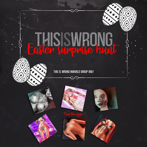THIS IS WRONG Easter surprise hunt!
