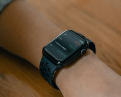Robinhood Trading Bitcoin on Apple Watch