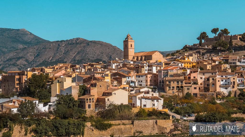 ruta por los pueblos de Alicante