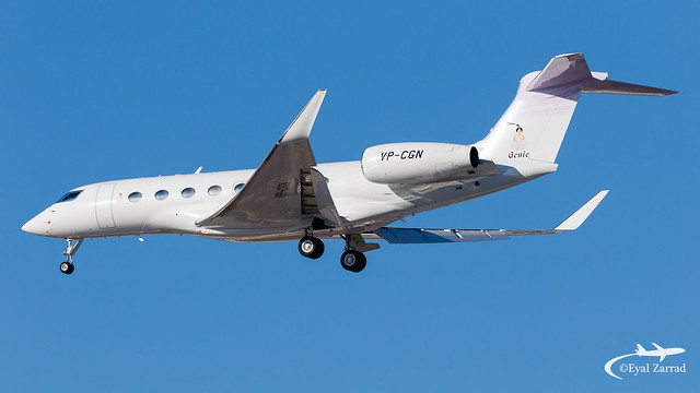 TLV - Private Gulfstream G650 VP-CGN