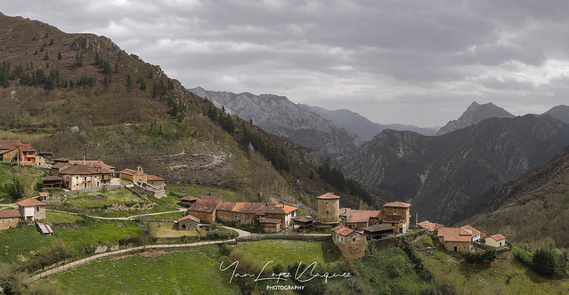 Bandujo, pueblo medieval - Bandujo, medieval town