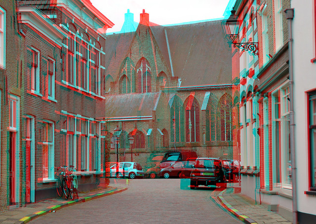 Oudewater 2021 3D anaglyph