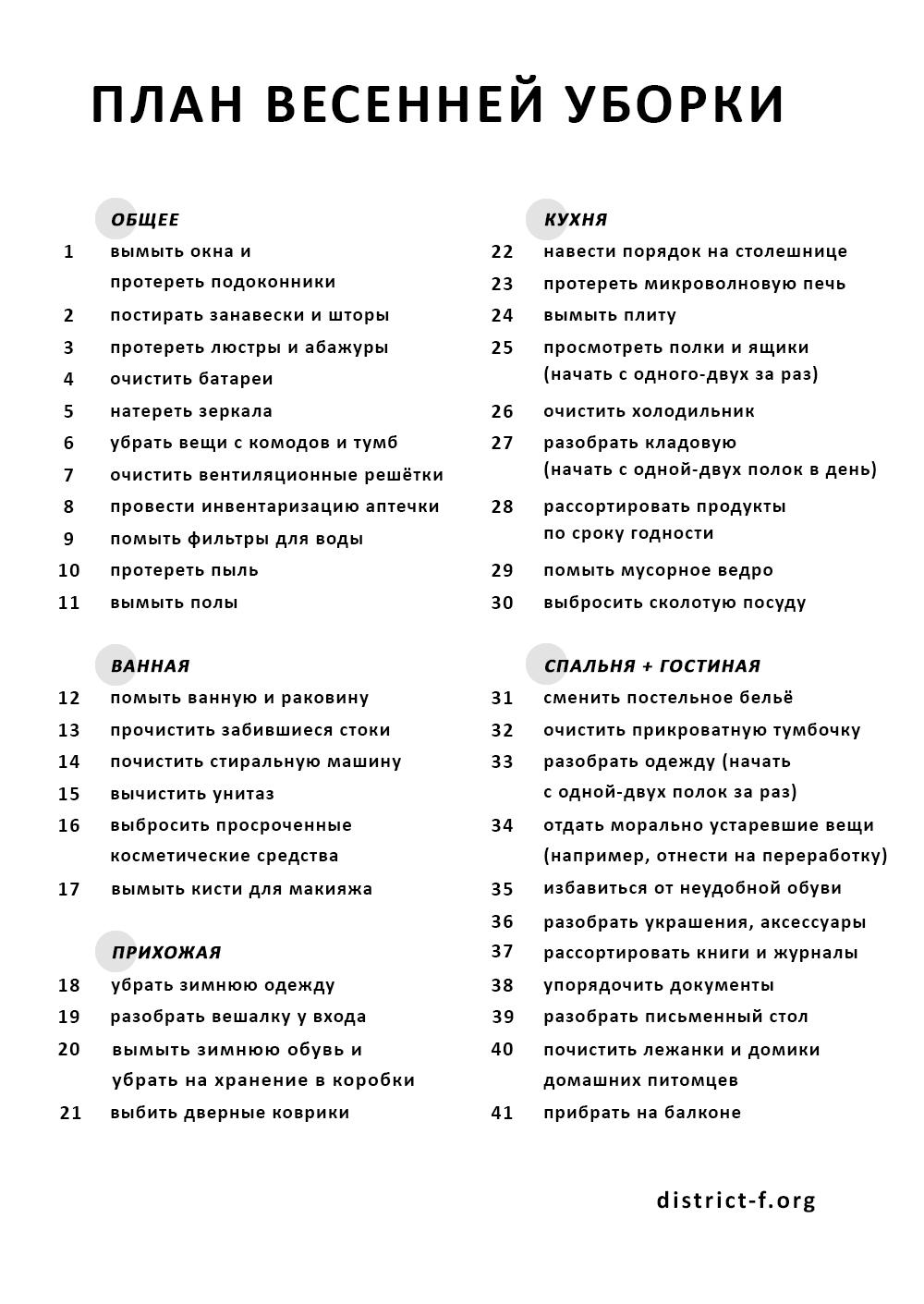 ПЛАН ВЕСЕННЕЙ УБОРКИ district-f.org (2)