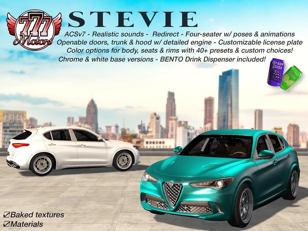 [777] Stevie Luxury SUV