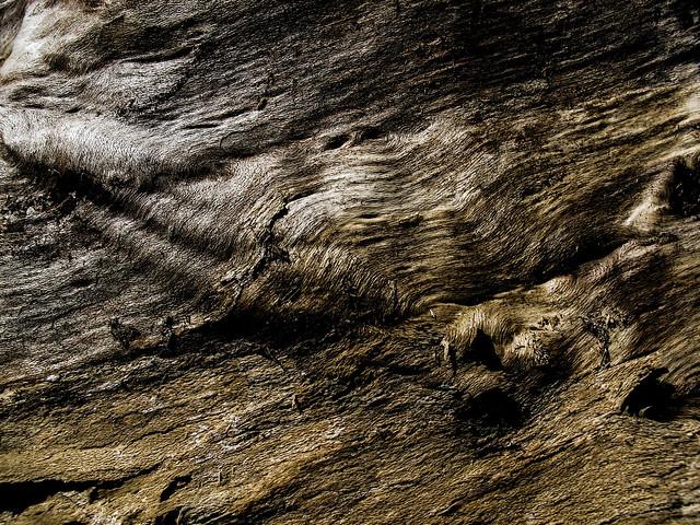 Stromschnelle aus Holz