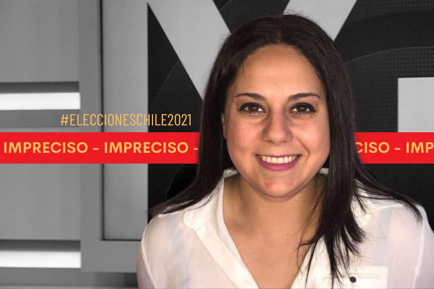 Son imprecisos los presupuestos municipales que mencionó la candidata constituyente Fabiola Troncoso