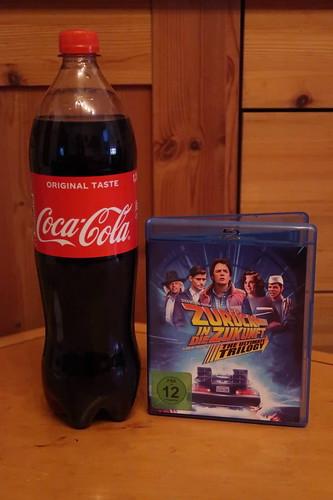 """Coca-Cola zum Film """"Zurück in die Zukunft"""""""