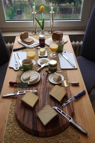Frühstück am Karsamstag