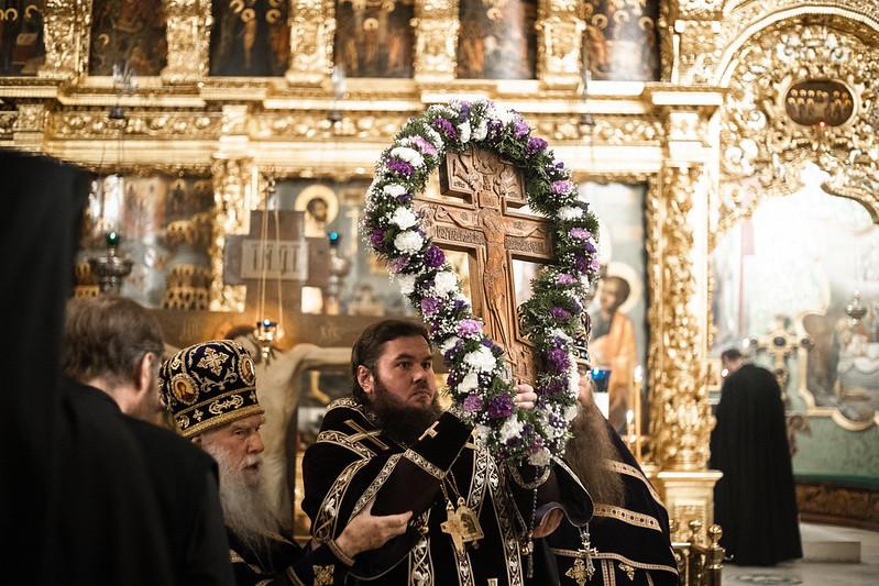 3-4 апреля 2021, Неделя 3-я Великого Поста. Крестопоклонная / 3-4 April 2021, Third Sunday of Great Lent. Adoration of the Holy Cross