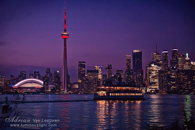 Toronto Skyline Sunset