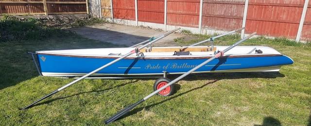 2002 Blue Virusboats Yole Custom
