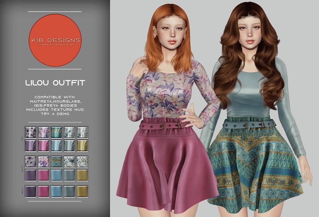 KiB Designs – Lilou Outfit @Designer Showcase 5th April