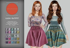 KiB Designs - Lilou Outfit @Designer Showcase 5th April