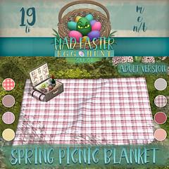 Easter Hunt Prize Reveal: Spring Picnic Blanket