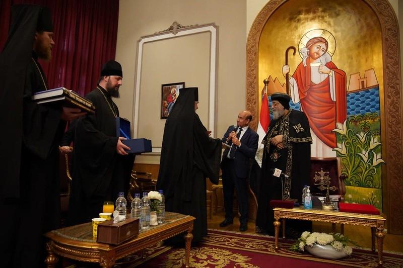 зустріч з Патріархом Коптським Тавадросом ІІ 3