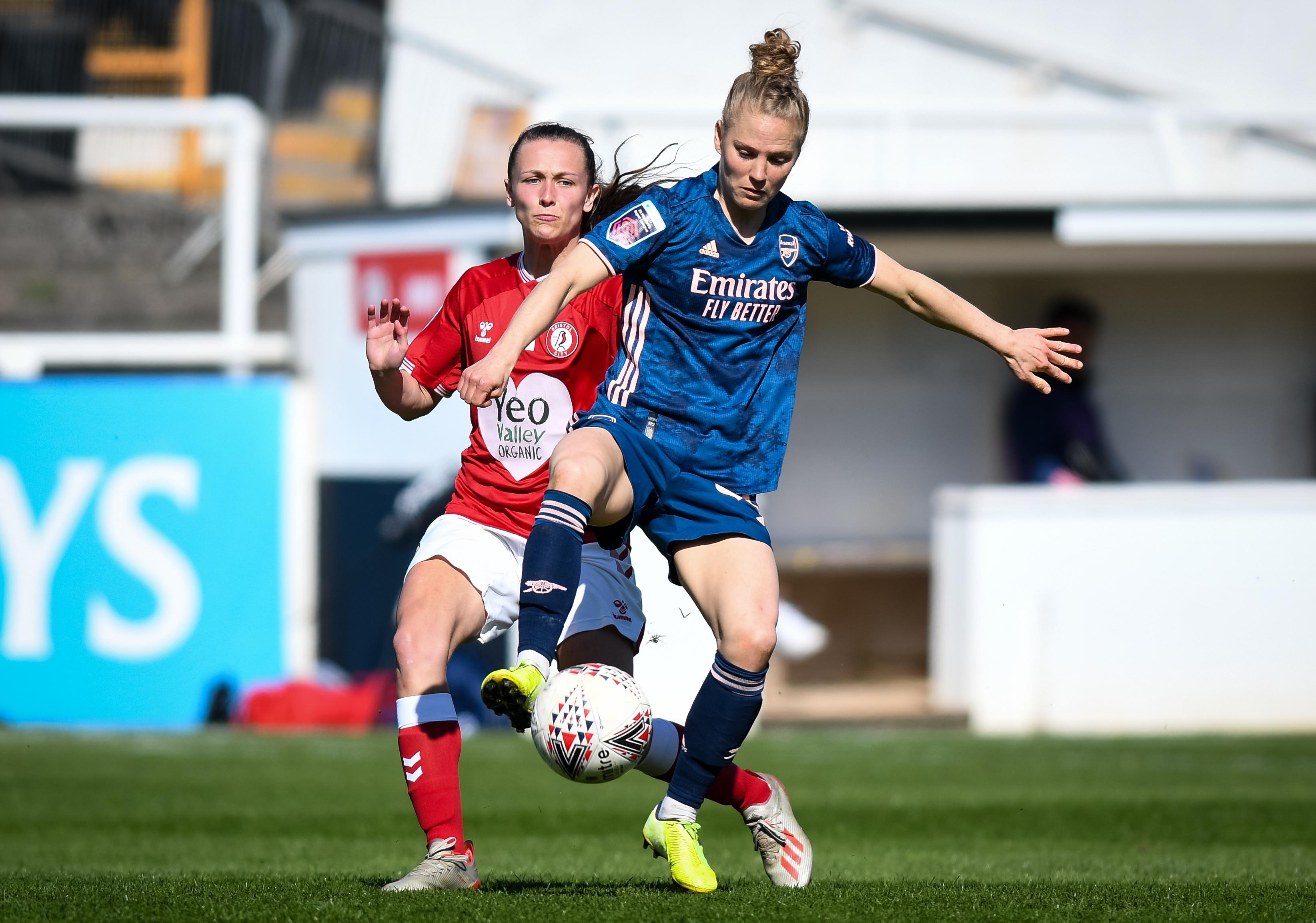 Bristol City Women v Arsenal Women 040421