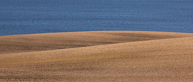 Landscape meets seascape