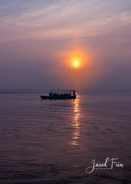 Sunrise on the Ganges - Further Post Processed