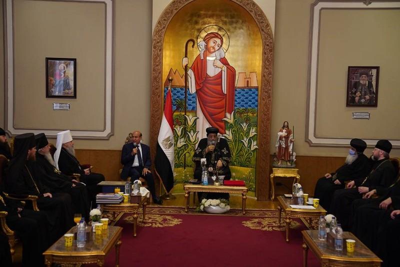 зустріч з Патріархом Коптським Тавадросом ІІ 2
