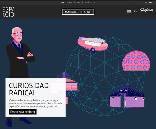Curiosidad Radical. En la órbita de  Richard Buckminster Fuller
