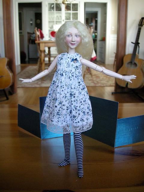 Jane's Easter dress.