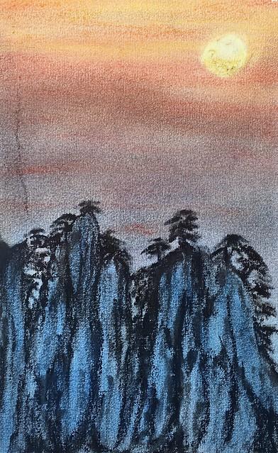 Pastell:sunset 2