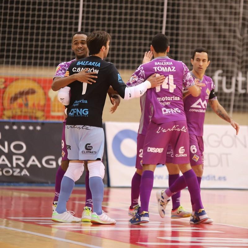 04-04-2021 Fútbol Emotion Zaragoza - Palma Futsal