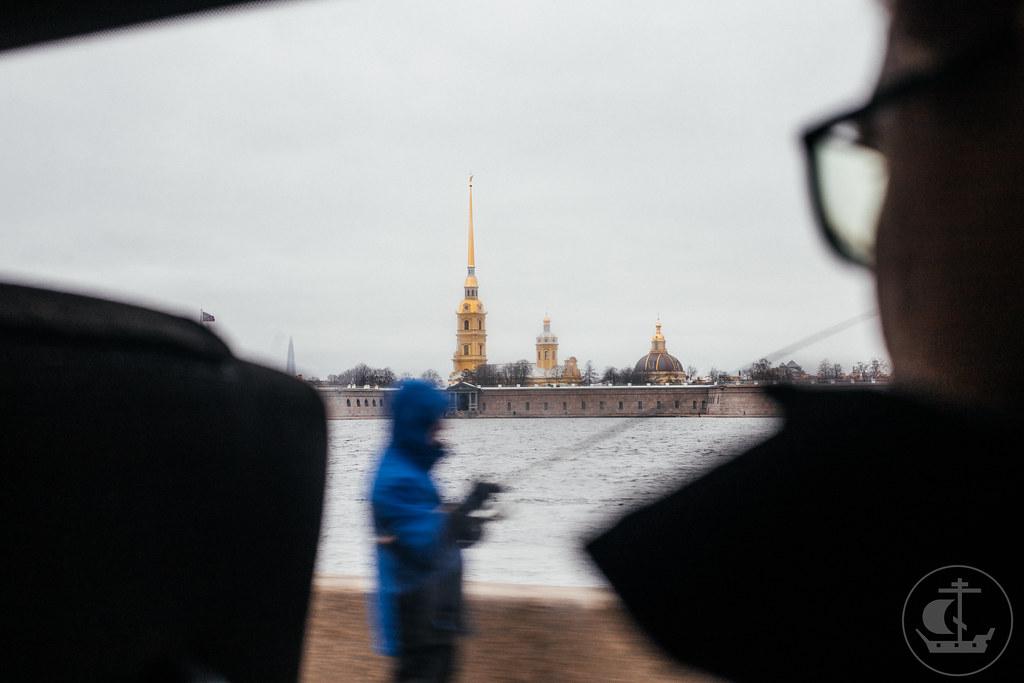 4 апреля 2021, Экскурсия студентов по Санкт-Петербургской академии художеств / 4 April 2021, of Students tour at the St. Petersburg Academy of Arts