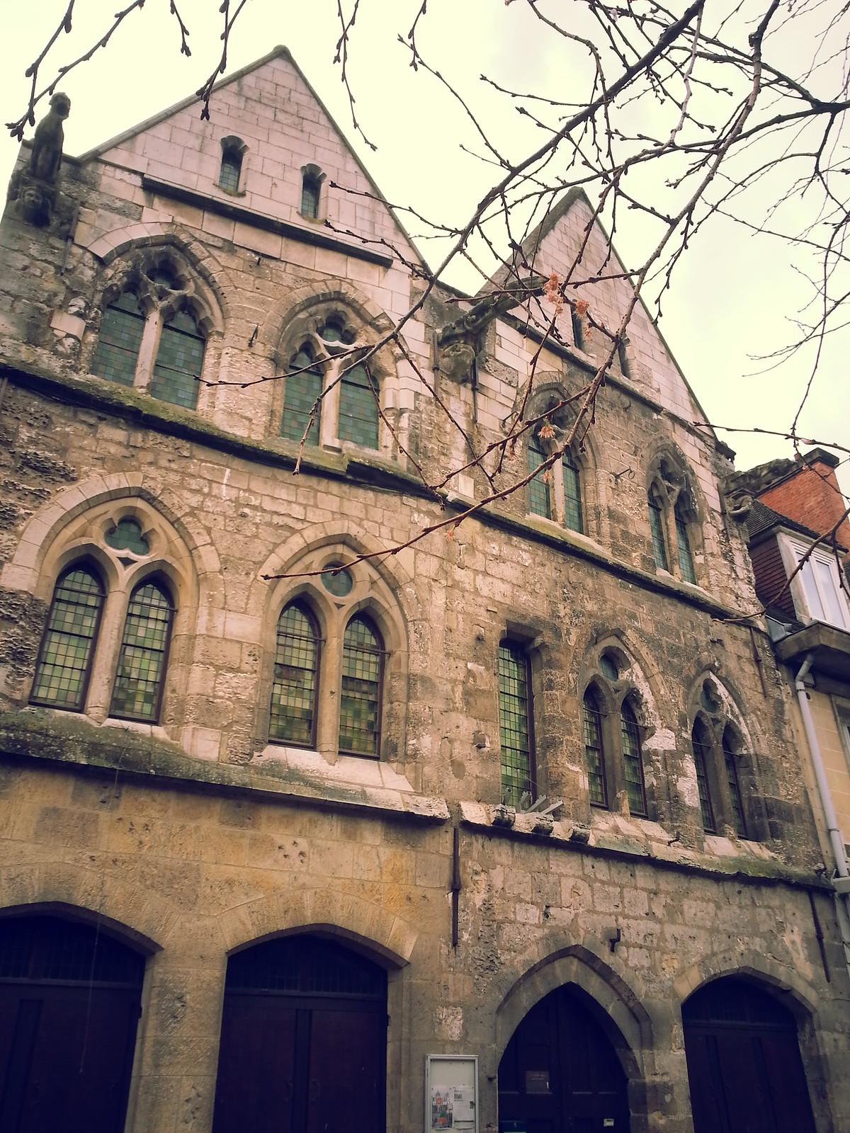 12-16-15 (Caudebec-en-Caux) La maison des templiers.