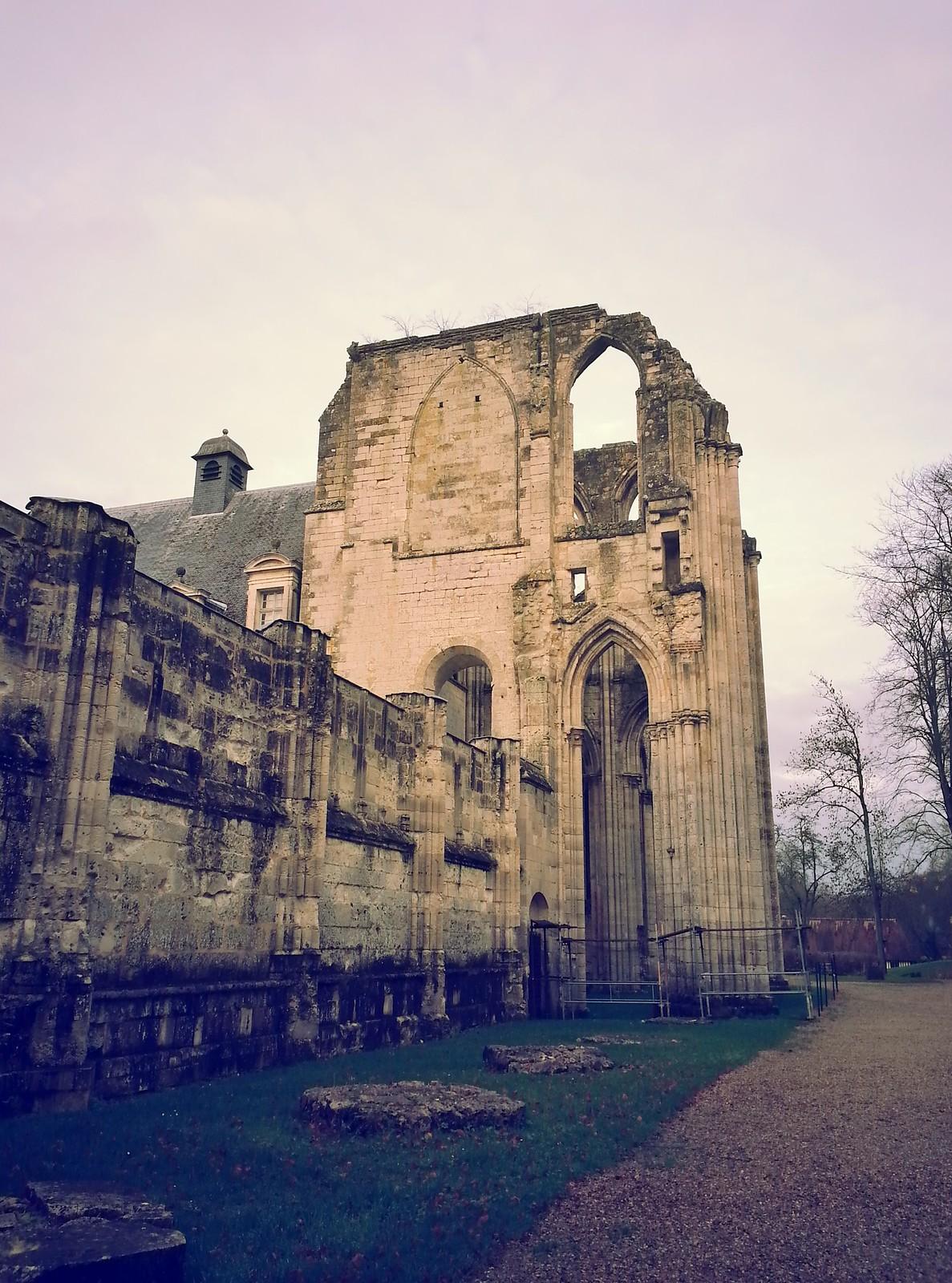 12-16-15 (Saint-Wandrille) Abbaye de Saint Wandrille.