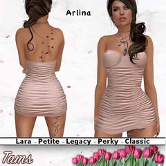 Crinkled Dress - Arlina