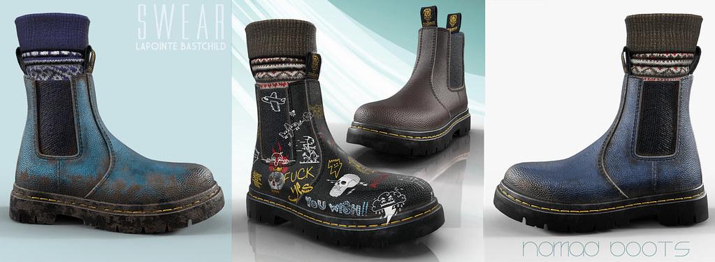 L&B@TMD:April - Men's Nomad Boots Fatpack