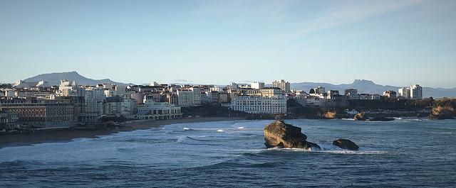 Biarritz - Premiers rayons de soleil