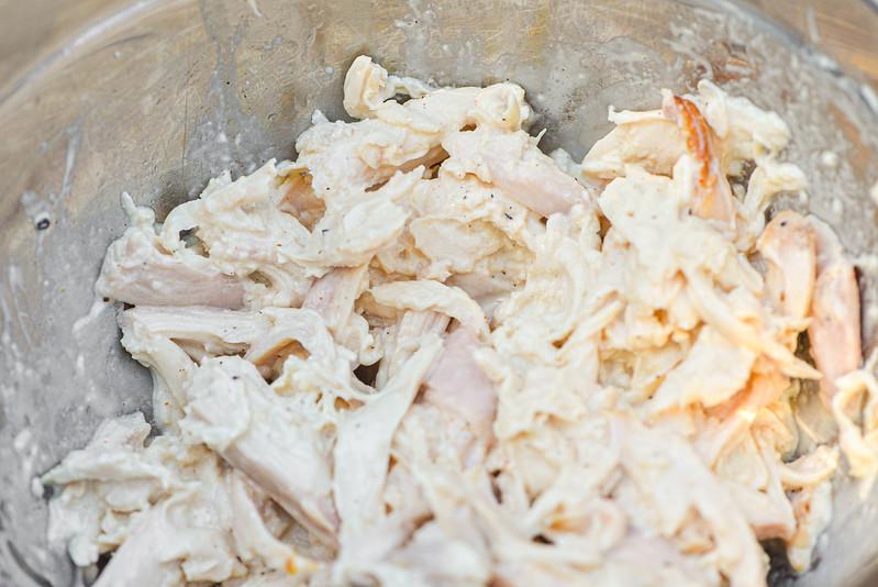 White Sauce Chicken Sandwiches