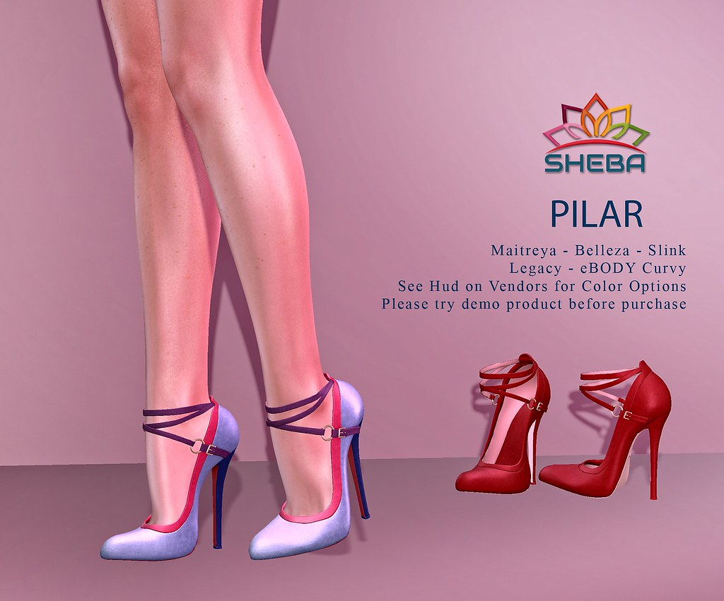 [Sheba] Pilar Heels (Updated) @FBF Sale