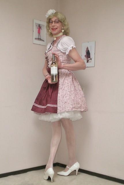 Dirndl dress.