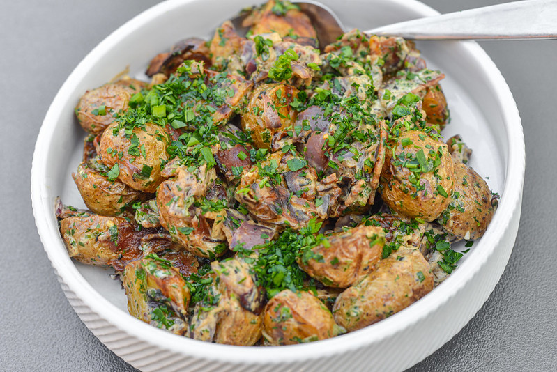 Cajun-spiced Potato Salad
