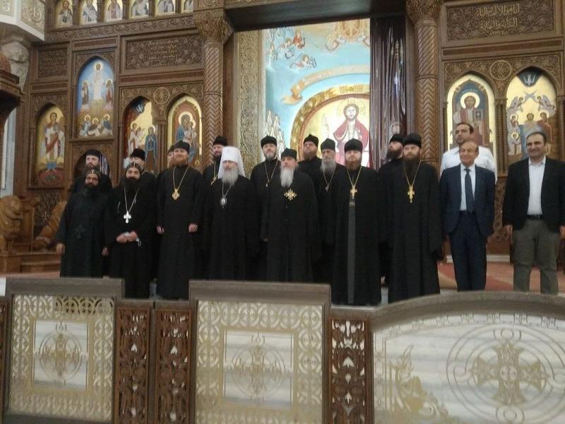 зустріч з Патріархом Коптським Тавадросом ІІ 4