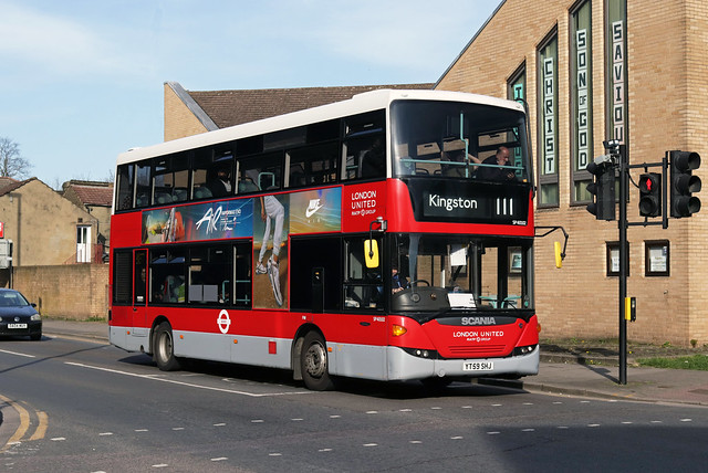 Route 111, London United, SP40102, YT59SHJ