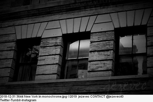 2018-12-31 3644 New York in monochrome