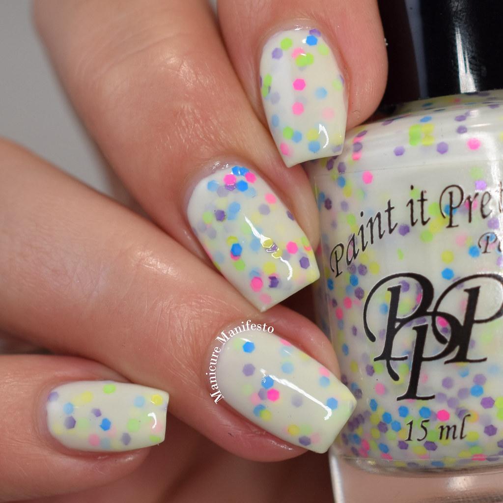 Paint It Pretty Polish Confetti