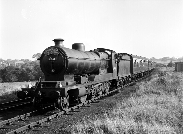 R.O.D 2-8-0 63585 on Gainsborough MRS special