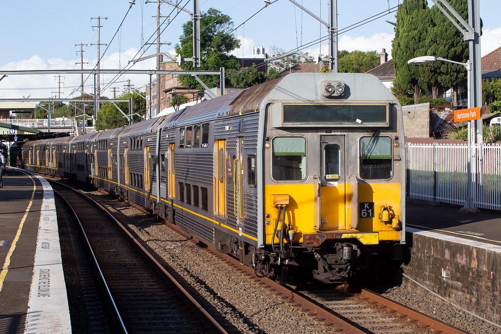 C3517 K61-K67 SydneyTrains 44-D Hurlstone Park 30-3-21