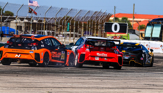 2021 Michelin Pilot Challenge at Sebring - Race Day - Just Some Light Contact