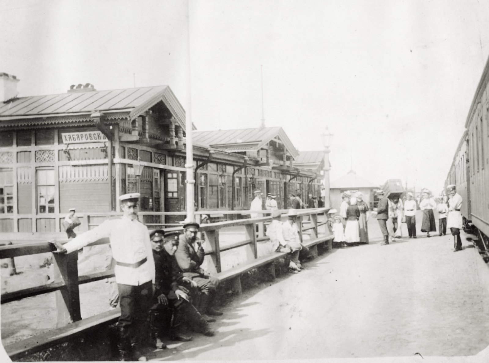 30. Станция Хабаровск