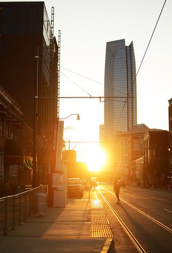 photocon 2021 convention photography bedfordscamera bedfordsokc photoconokc okc oklahomacity oklahoma downtown bricktown shadows sunset devon tower skateboard