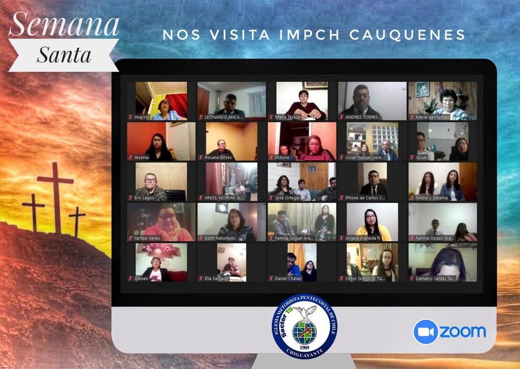 """""""Dichosos los que no han visto y han creído"""" Servicio de Vigilia en Chiguayante"""
