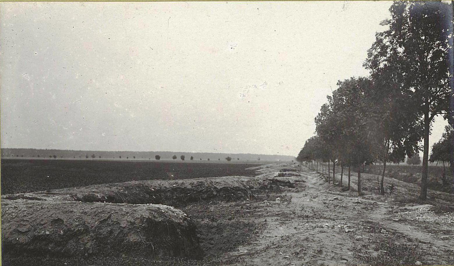 31. Русские оборонительные окопы у Белжице