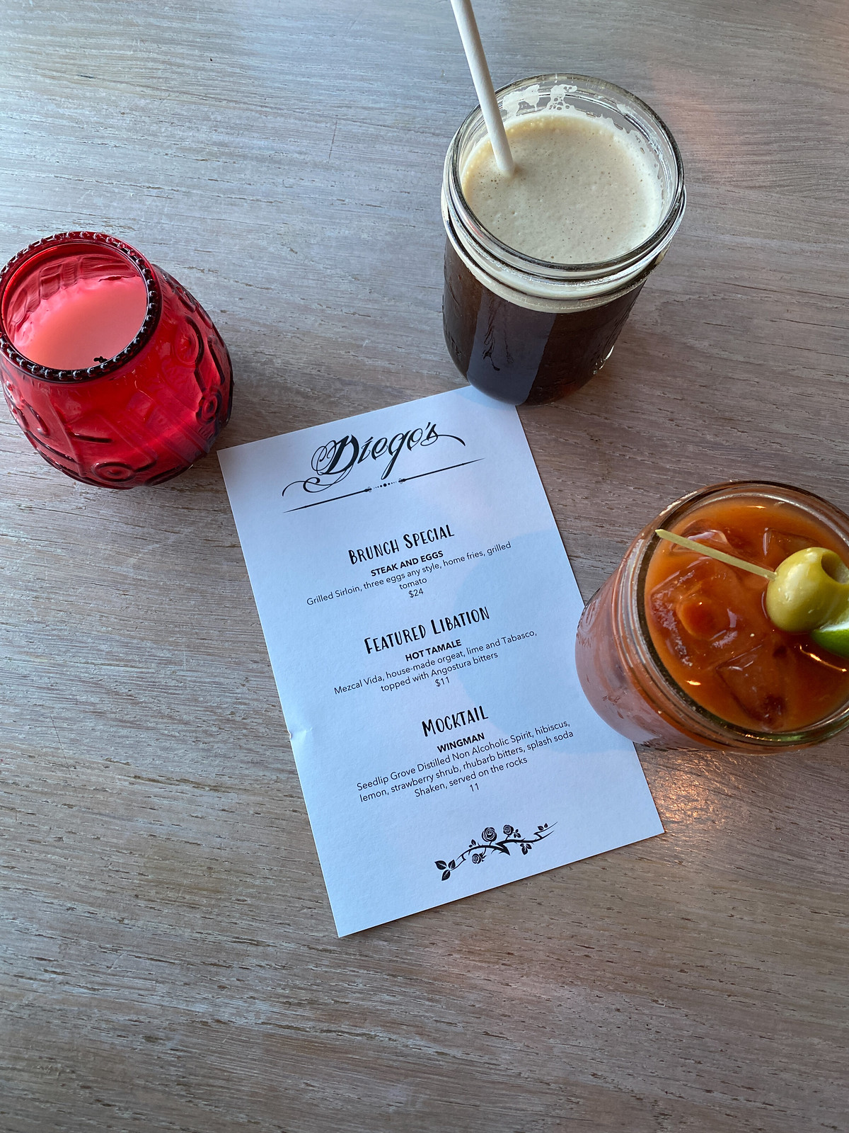 Diegos House Bloody Mary | Where to Eat in Newport | 48 Hours in Newport Itinerary | A First Timer's Guide to 2 Days in Newport Rhode Island | What to do in Newport | Newport Travel Guide | Best Things to do in Newport | Best Places to Visit in Newport